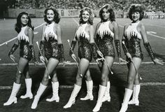 N. C. State majorettes 1960s Our Spartan uniforms looked similar in the 80s!
