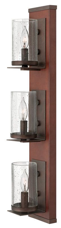 View the Fredrick Ramond FR40203 3 Light Indoor Wall Sconce from the Jasper Collection at LightingDirect.com.