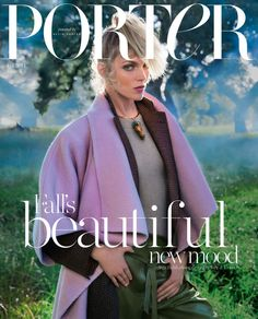 Porter Magazine enlists supermodel Anja Rubik to star on the cover of their Fall 2014 issue captured by fashion photography duo Inez van Lamsweerde & Vinoodh Matadin. V Magazine, Dazed Magazine, Fashion Magazine Cover, Fashion Cover, Magazine Covers, Model Magazine, Women's Fashion, Anja Rubik, Marie Claire