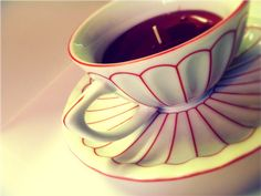 I feel a trip to the antique store in my future....DIY Tea Cup Candle by Olive Oil Lady, via Flickr