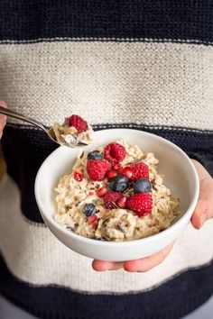 Bircher Muesli is the most convenient breakfast for whipping up the night before…