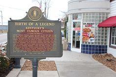 KFC -- The Harland Sanders Cafe and Museum in Corbin Kentucky