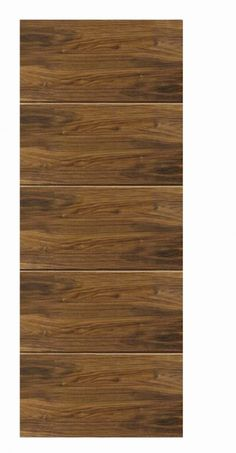 JB Kind Walnut Flush Lara Internal Door - Walnut Doors