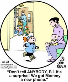 Family Circus Cartoon for Dec/22/2012