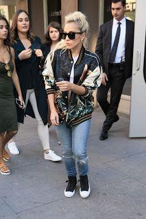 FOTOS HQ: Lady Gaga dejando un estudio de Nueva York (Septiembre 15) | Hey Lady Gaga