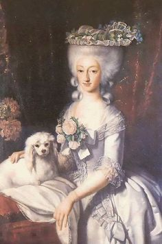 ca. 1777 Maria Anna Carlotta Gabriella di Savoia, Duchess of Chiablese by ? (location unknown to gogm)