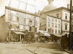 Weybosset Street, Providence. L Rhode Island History, New England, Louvre, Street View, Building, Travel, Vintage, Viajes, Buildings