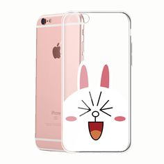 Line Cony Rabbit Clear TPU Silicone case for Apple iPhone 4 5 6 S Plus Samsung Galaxy S6 edge  HTC Desire Nexus 6P 5X LG Sony Xperia Z5 P3 by turtlemimi on Etsy https://www.etsy.com/listing/268031117/line-cony-rabbit-clear-tpu-silicone-case