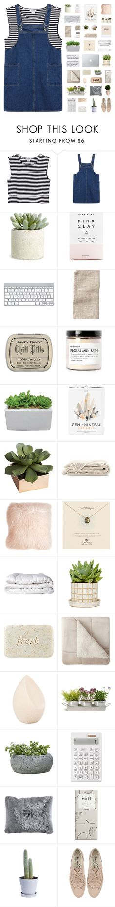 """lost boys like me"" by iced-lemons ❤ liked on Polyvore featuring Monki, Allstate Floral, Herbivore, Toast, Fig+Yarrow, CB2, Pillow Decor, Dogeared, Brinkhaus and Fresh"