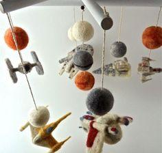 star wars decoration for babies in etsy by Andrea Burnett de Sheep Creek Needlecraft