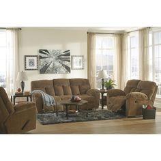 Caramel Reclining Living Room Set | Brian's Furniture