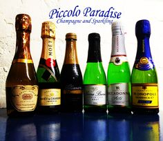 Champagne and sparkling piccolos. Sounds like the perfect gift for mum to me.  http://halfbottles.com.au/sparkling/