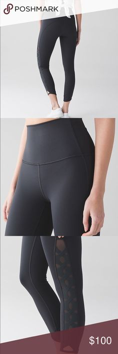 💕NWT Lululemon Serene Tight WHY WE MADE THIS Keep your cool in these high-rise tights designed with both coverage and ventilation in mind. Keep your cool in these high-rise tights designed with both coverage and ventilation in mind. FULL-ON® LUXTREME  Four-way stretch Full-On® Luxtreme fabric is sweat-wicking and offers great support and coverage with a cool, smooth feel  incredible support and coverage sweat-wicking four-way stretch cool smooth handfeel naturally breathable lululemon…