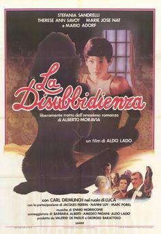 La disubbidienza , 1981 , Italy , by Aldo Lado // Colpito da polmonite, il giovane Luca (Karl Zinny 17-y) rifiuta le cure, finché nella sua vita non appaiono un'istitutrice (Therese Ann Savoy 26-y English) e un'infermiera (Stefania Sandrelli 35-y) , soprattutto quest'ultima, forse anche di lui innamorata, lo cura con amore in tutti i sensi riuscendo a salvarlo