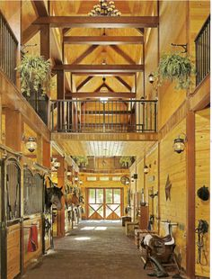 luxury barn apartments, living quarters upstairs?