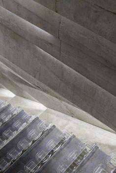 Up close & persona in Konzerthaus Blaibach by Peter Haimerl Architektur.