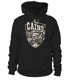 It's a CAINS Thing, You Wouldn't Understand