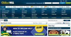 William Hill, one of the traditional high street bookmakers and one of the most popular for online betting as well.