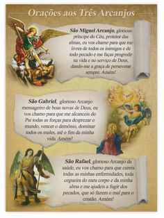 St Michael Archangel Prayer, Archangel Prayers, Portuguese Lessons, Life Code, Christ, Catholic Quotes, Angels In Heaven, Popular Quotes, Instagram Blog