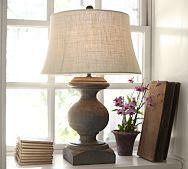 pottery barn table lamp