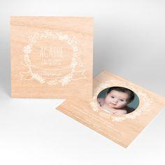 Faire-part naissance - Bois Joli Bebe Nature, Home Decor, Pretty, Daughter, Homemade Home Decor, Decoration Home, Interior Decorating