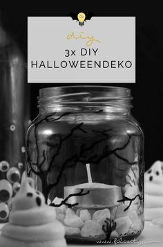 3 quick Halloween decoration ideas to make your own – Halloween Costumes Spooky Halloween, Diy Halloween Costumes, Adult Costumes, Halloween Party, Halloween Decorations, Halloween Ideas, Make Your Own, Make It Yourself, Diy Blog