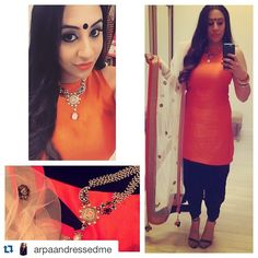 fabulous vancouver wedding Check out this awesome dupatta we created for @arpaandressedme! #Repost @arpaandressedme with @repostapp. ・・・ The second I saw this necklace at @crossoverbollywoodse I knew I had to have it. I wanted something different to wear because the necklace is so unique! So I created this outfit with a dhoti salwar and combined some great colours! Thank you @redcarpetready_van for this amazing dupatta! #arpaandressedme #indianaccessories #indianstyle #bollywoodfashion…