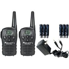 Midland 18-mile Gmrs Radio Pair Value Pack With Charger & Rechargeable Batteries (pack of 1 Ea)
