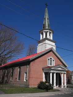 Saint-James Anglican Church  Built in 1816-1817  St-Jean-sur-Richelieu, Quebec.