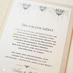 Texte für die Danksagung zur Hochzeit