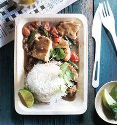 Goan halibut coconut curry recipe Photo by Roberto Caruso