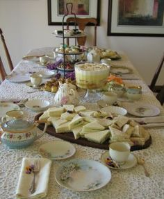 tea party recipes for baby shower