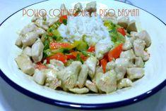 Pollo con verdure e riso basmati http://blog.giallozafferano.it/incucinadalicia/pollo-con-verdure-e-riso-basmati/