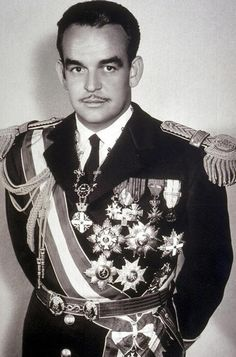 *PRINCE RAINER ~ of Monaco (1923 - 2005), related to him through his British gr-grandmother.