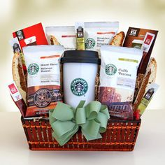gift basket ideas for raffles | go gift basket help your friend wake up on those early mornings basket ...                                                                                                                                                                                 Más