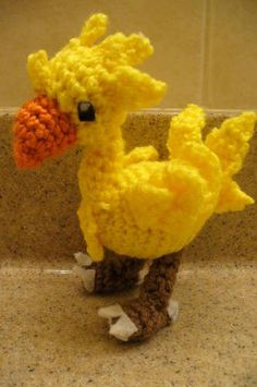 Chocobo Amigurumi (PATTERN UP) - CROCHET