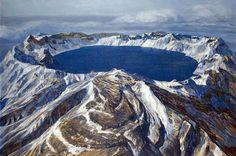 Tian Shan Hevenly Lake, Urumqi, China.