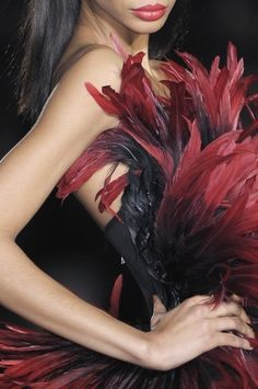 ❤Love the feathers!