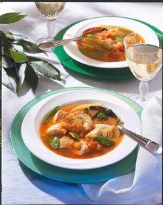 Unser beliebtes Rezept für Fischsuppe mit Zuckerschoten und mehr als 55.000 weitere kostenlose Rezepte auf LECKER.de.