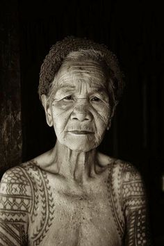 "Tattoo Ideas: Filipino woman Many people say:""did you ever think how it will look like when you're old?"" Well, beautiful."