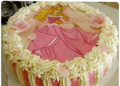 prinsessa ruususen kakku Princess Party, Desserts, Food, Tailgate Desserts, Deserts, Essen, Dessert, Yemek, Food Deserts