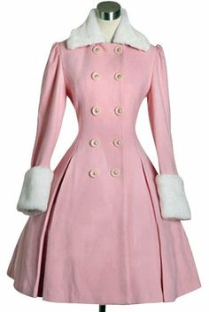 missingsisterstill:  Pink Cashmere Lolita Coat