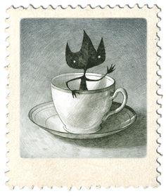 Ilustración de Shaun Tan.