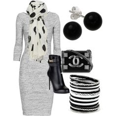 """""""Nice office attire"""" or church by bsimon623 on Polyvore"""