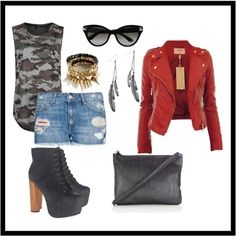 """en la ciudad"" by yosoylapelua on Polyvore"