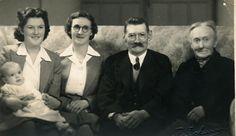 Five generations. Me,  Doug Hille 1943 - ?, Thelma Pepper 1923 - 2012, Ruth Carter 1905 - 1955, Matthew Carter 1876 - 1951, Christina Gilchrist 1850 - 1947.