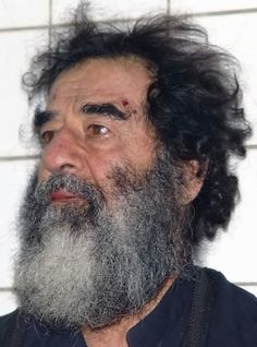 December 13 2003 Saddam Hussein, former President of Iraq, is captured in Tikrit by the U. Vladimir Lenin, Kurt Cobain, Elvis Presley, Anti Tabaco, Cia Agent, Celebrity Mugshots, 4th Infantry Division, Bagdad, Cuts And Bruises