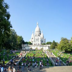 Paris - Basílica do Sacré-Coeur