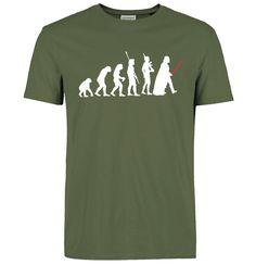 Star Wars Evolution T-Shirt (7 Colours) //Price: $12.09 & FREE Shipping //     #starwars #starwarsnerd #starwarsgeek #jedicrazy #jedi #theforce #luke