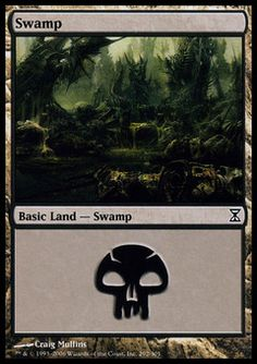 Swamp (3) ($.00) Price History from major stores - Time Spiral - MTGPrice.com Values for Ebay, Amazon and hobby stores!